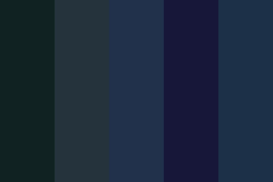 Ocean Dragons Color Palette