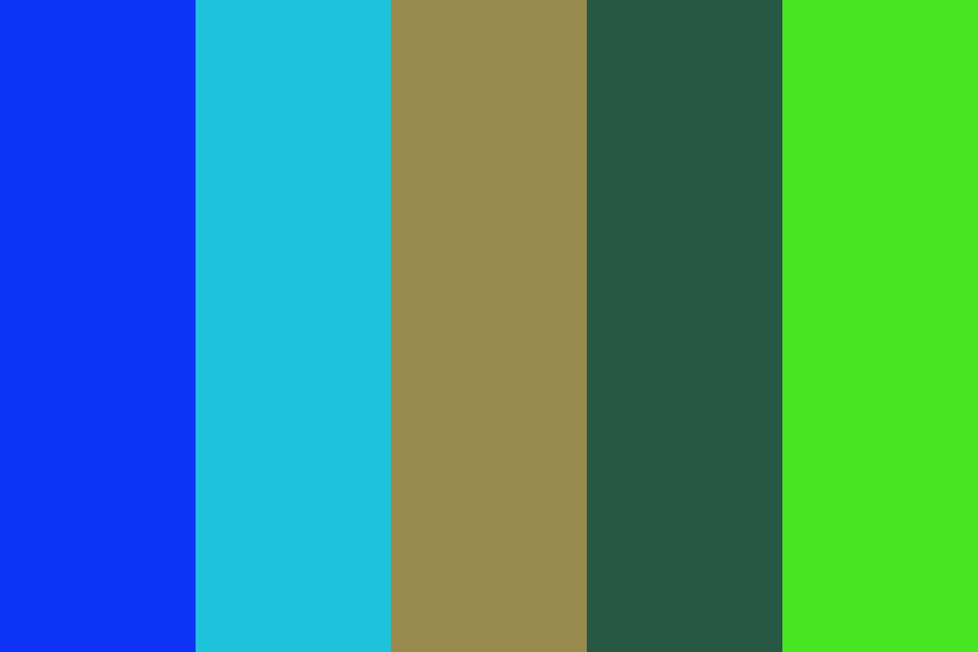 Ocean Field Color Palette