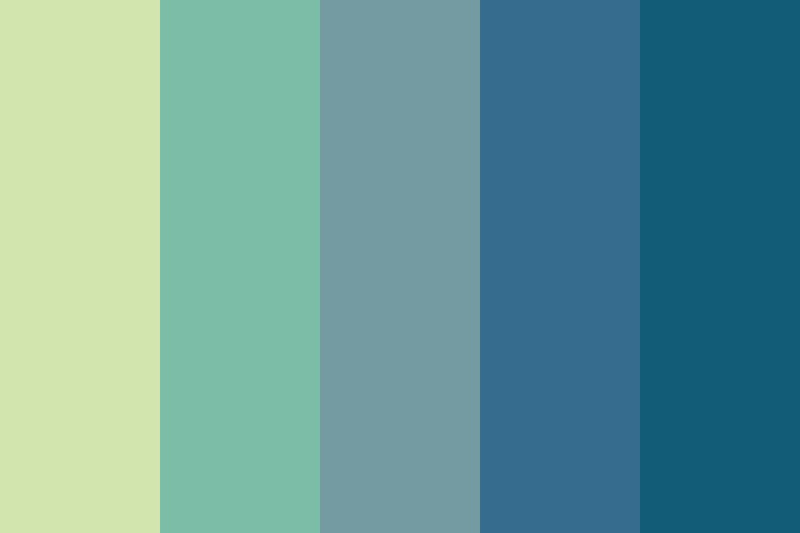 Ocean Of Tears Color Palette