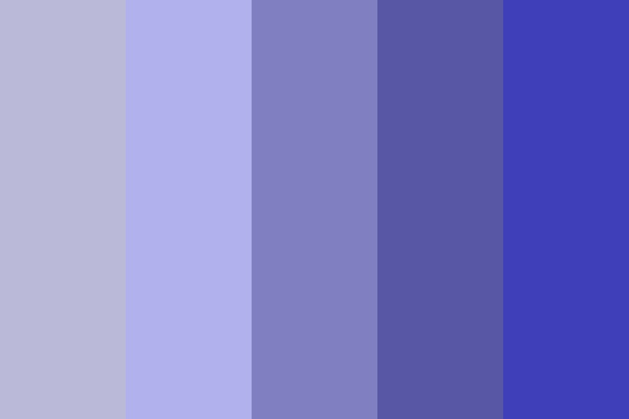 Ocean Purples Color Palette