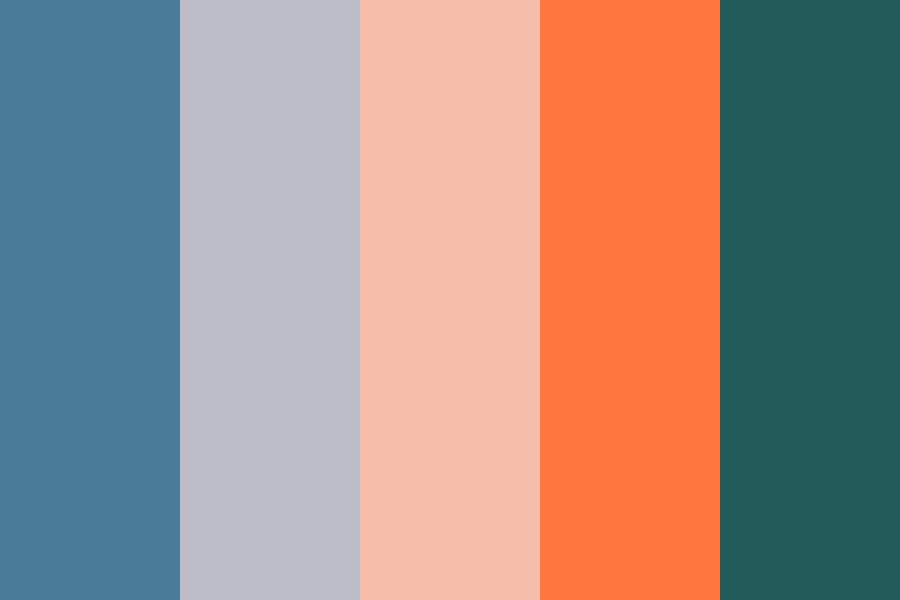 Ocean Sunset Color Palette