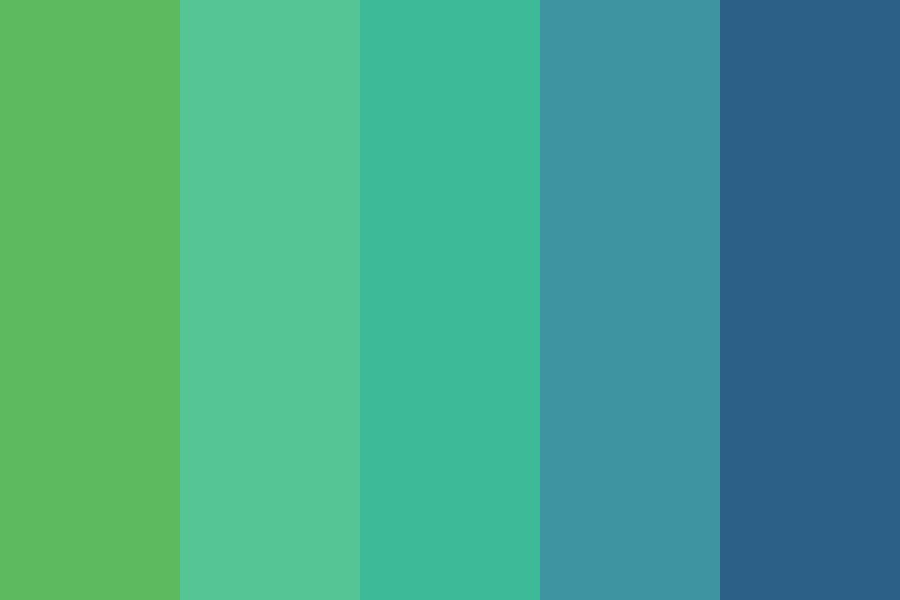 Ocean Tints Color Palette