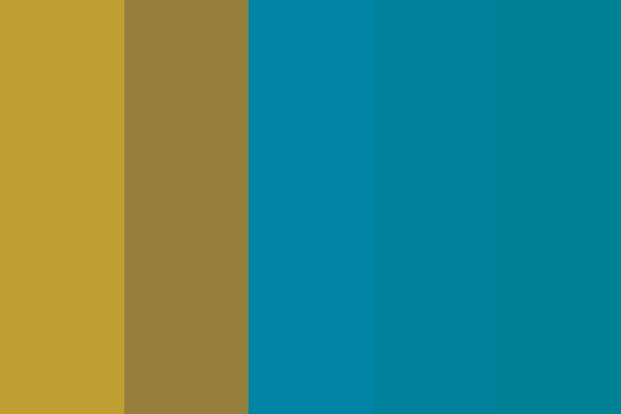 Ocean Treasure Color Palette