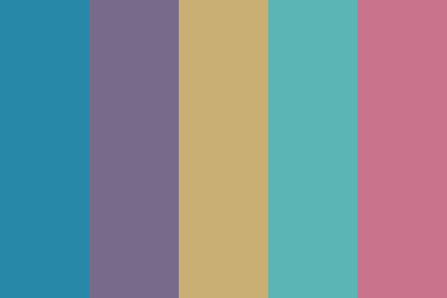 Oceandusk Color Palette