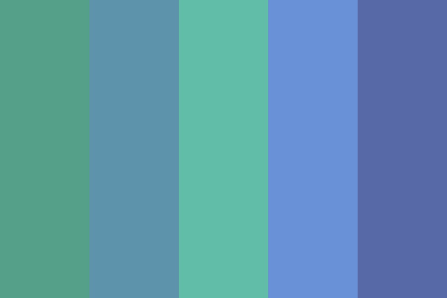 Oceanic Colors Color Palette
