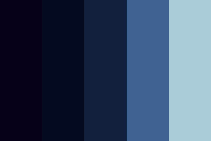 Oceans Tide Color Palette