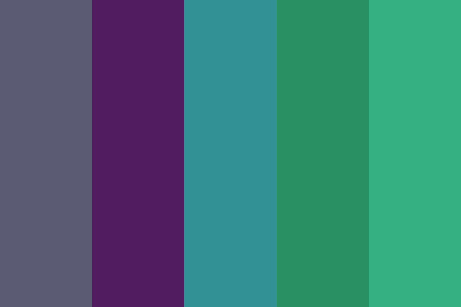 Oceany Color Palette