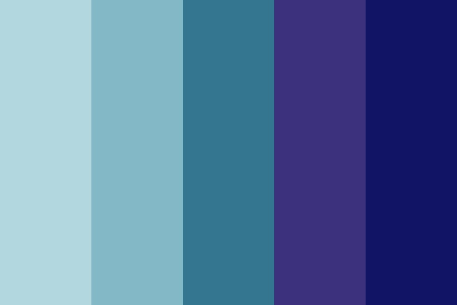Of Space And Time Color Palette