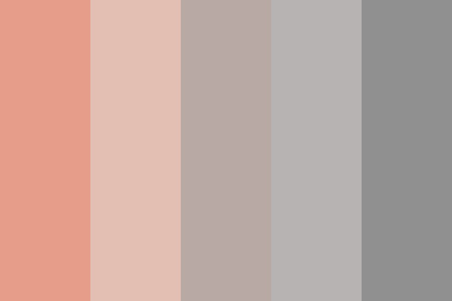 Of Sunsets And Rainclouds Color Palette