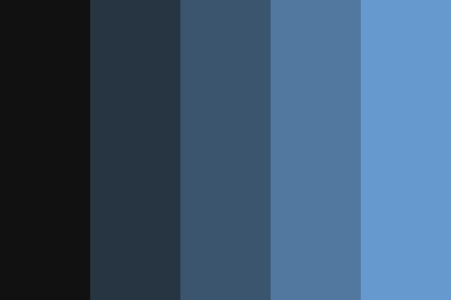 Of The Night Color Palette