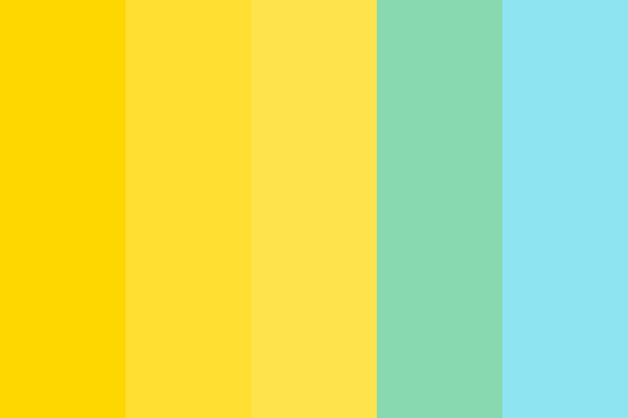 Oh Yellow Color Palette
