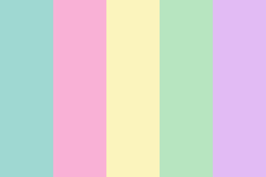 Old Pastel Princess Party Color Palette