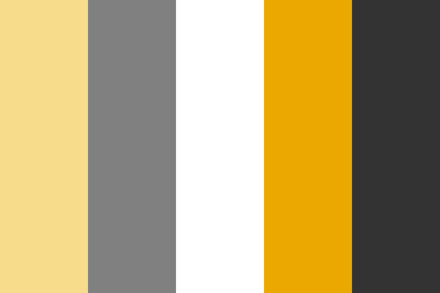 Old Yellow With Greys Color Palette