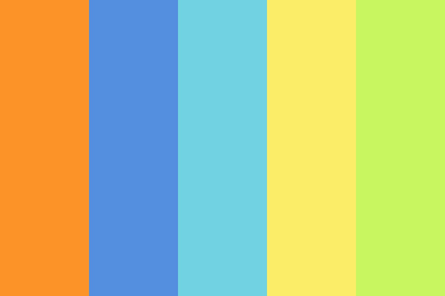 On The Bright Side Color Palette