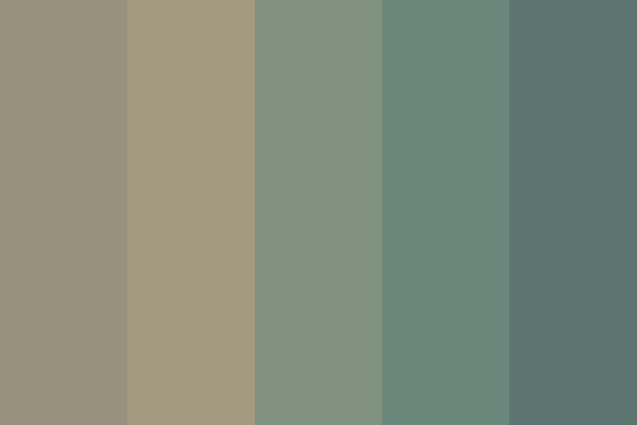 Opaque Nature Color Palette