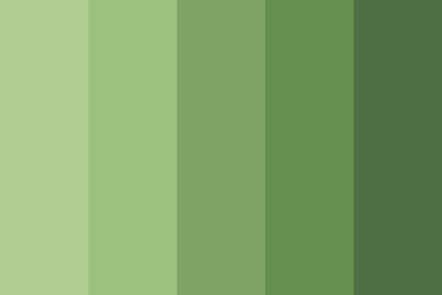 Open Space Agriculture Color Palette