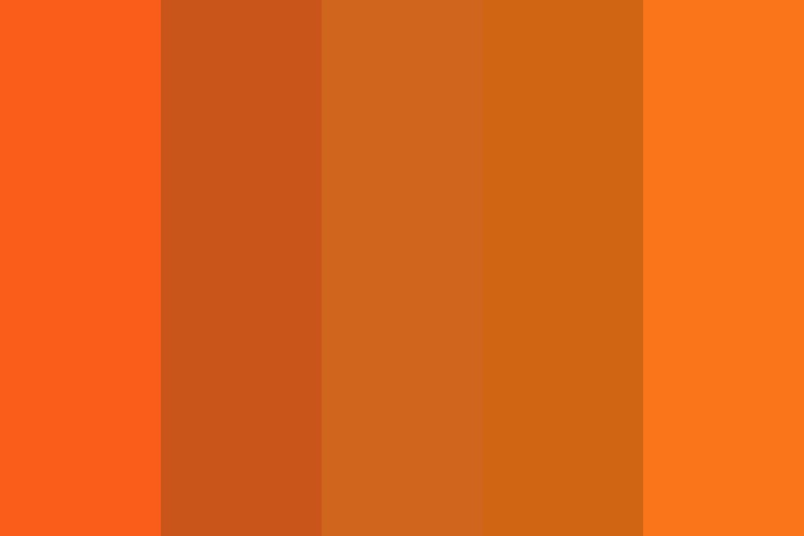 Orange Anagrams Color Palette