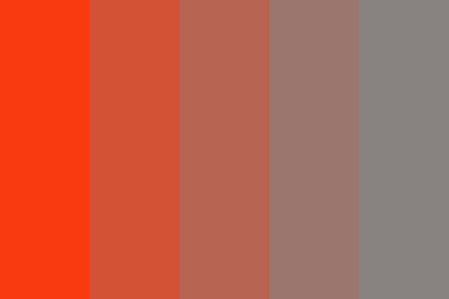 Orange Ghost Juice Color Palette