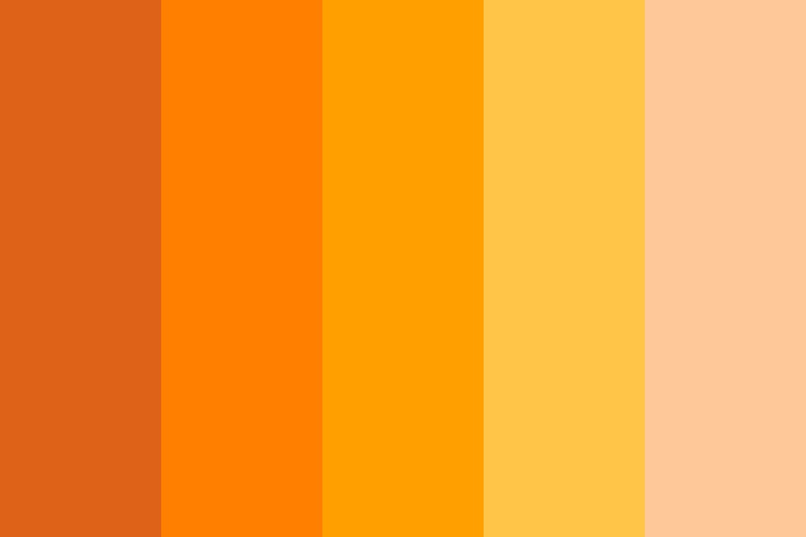 Orange Mb Color Palette