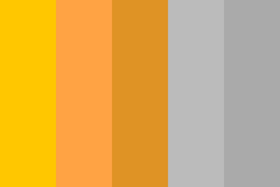 Orange Options Color Palette
