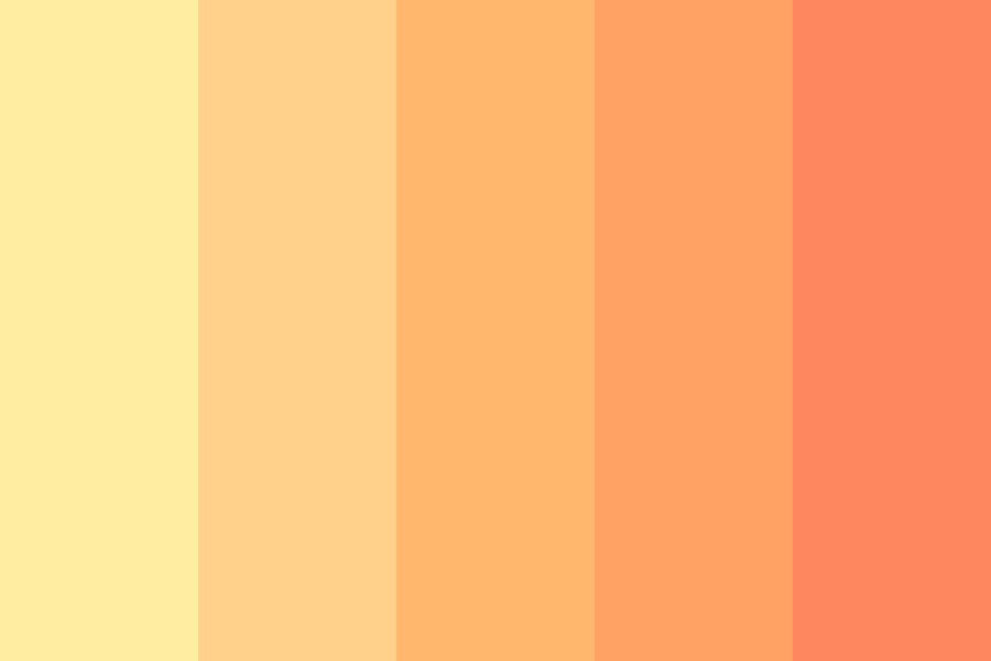 Orange Pop Color Palette