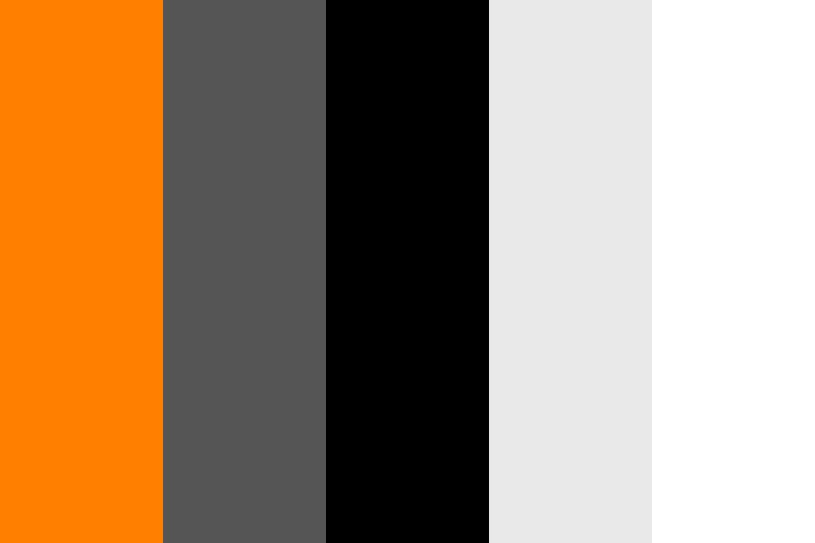 Orange Rt Color Palette
