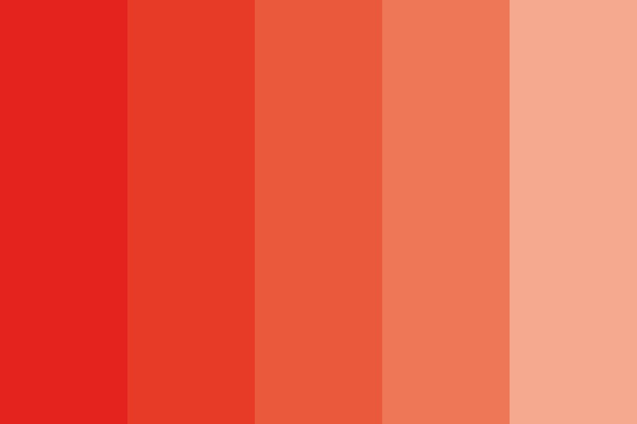 Orange Soda Afternoon Color Palette