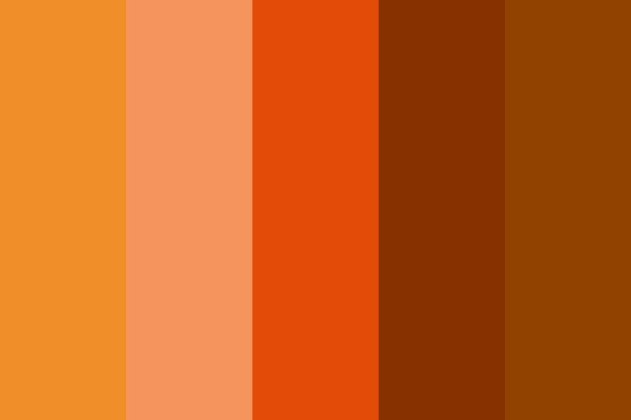 Orange The Pinup Color Palette
