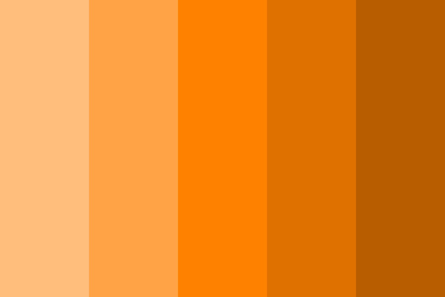 Orangechromatic Color Palette