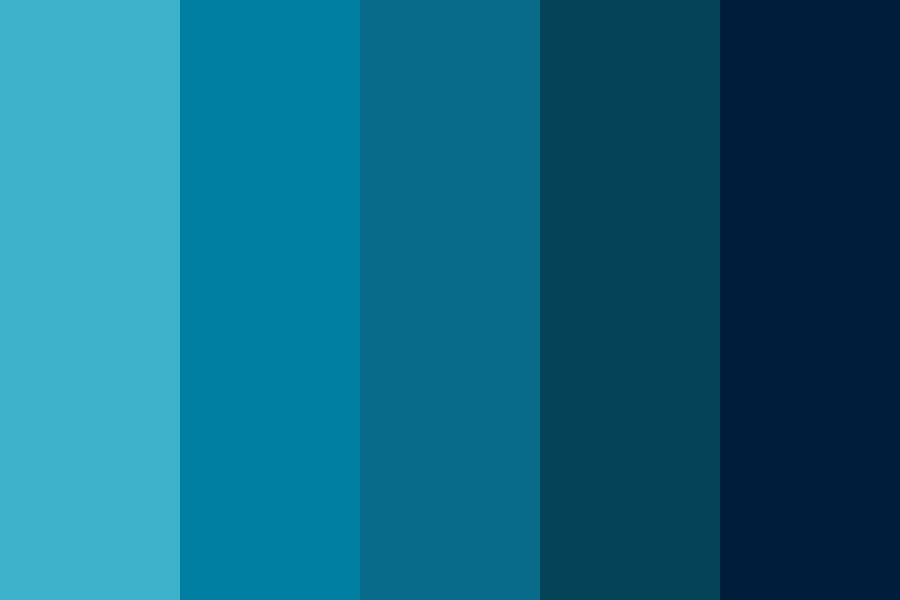 Our Blues Color Palette