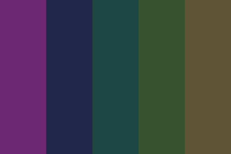 Our Numbered Days Color Palette