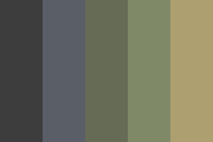 Out Camping Last Night Color Palette
