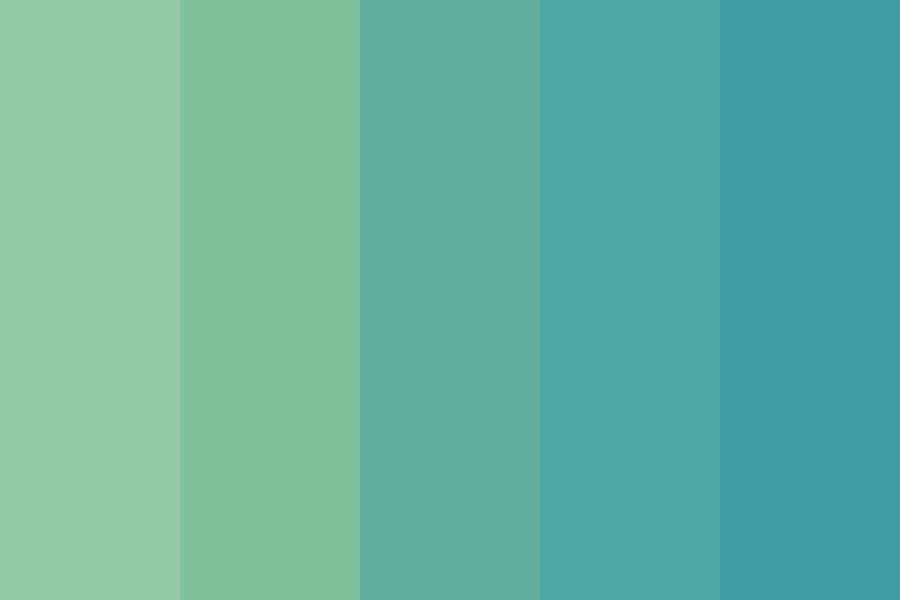 Out Of The Blue Color Palette