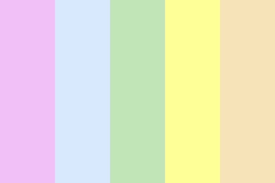 Over The Rainbow Signature Color Palette