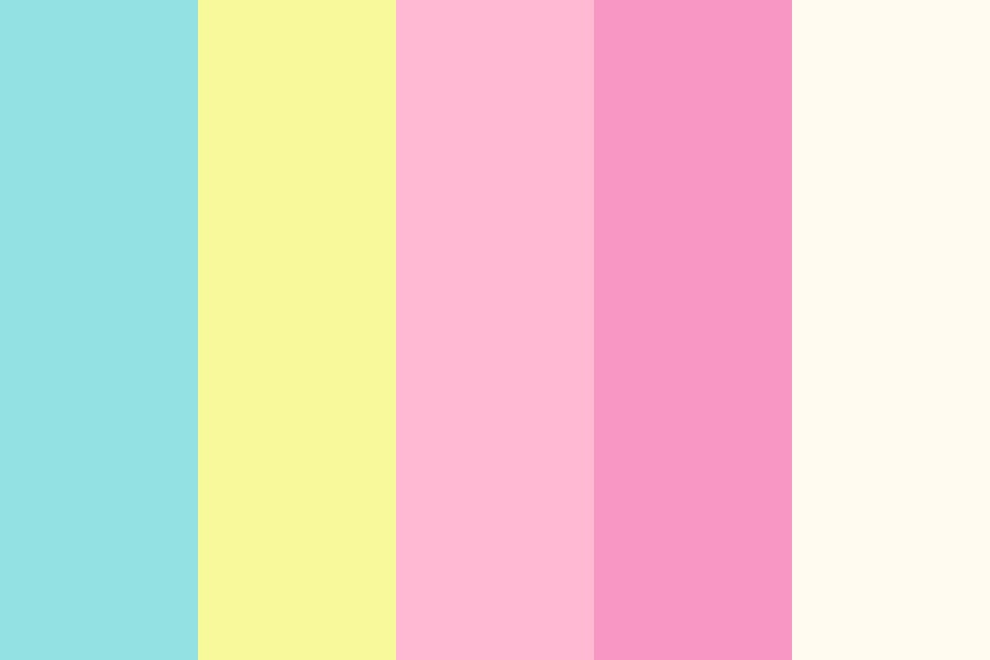 Oyis Clean soft Color Palette