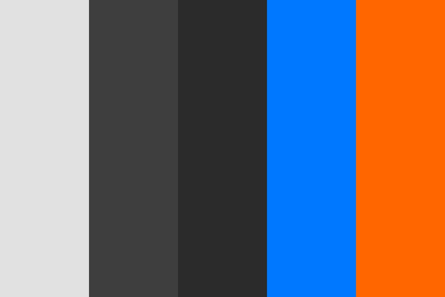 Pa Blueorange Color Palette