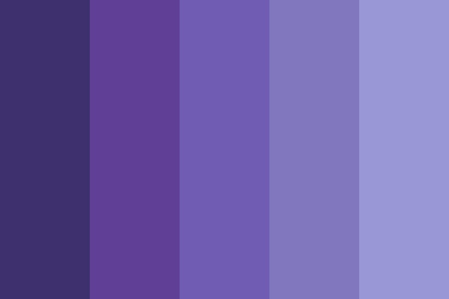 Pale Blueberry Color Palette