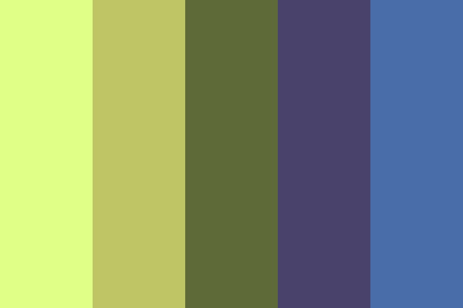 Pale Jungle Color Palette