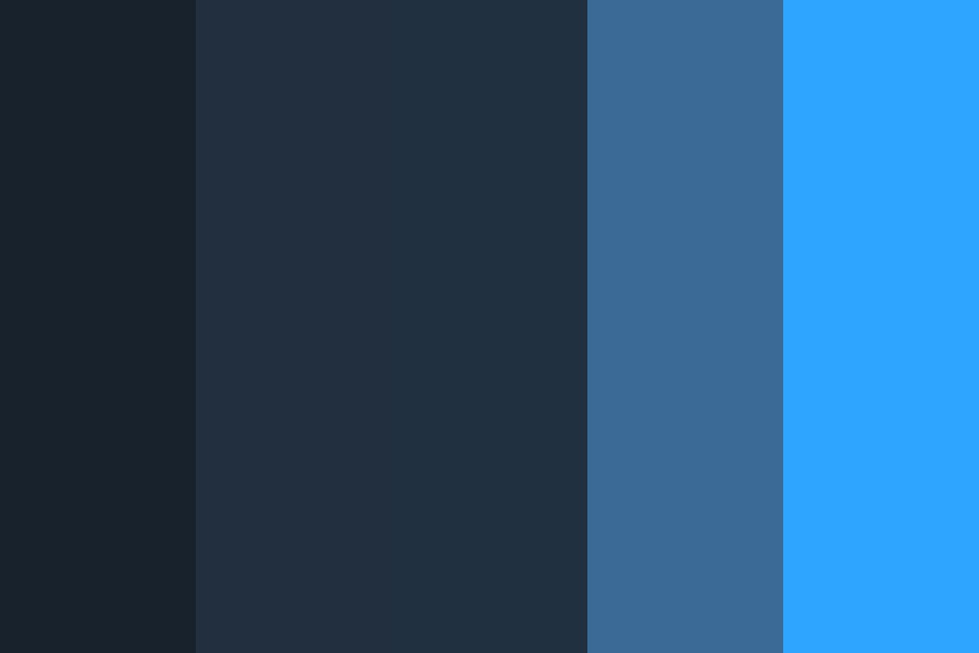 Pale Night Color Palette