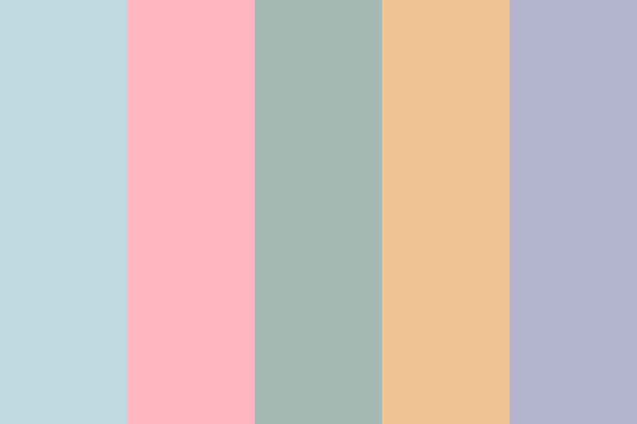 Pale Spring Color Palette