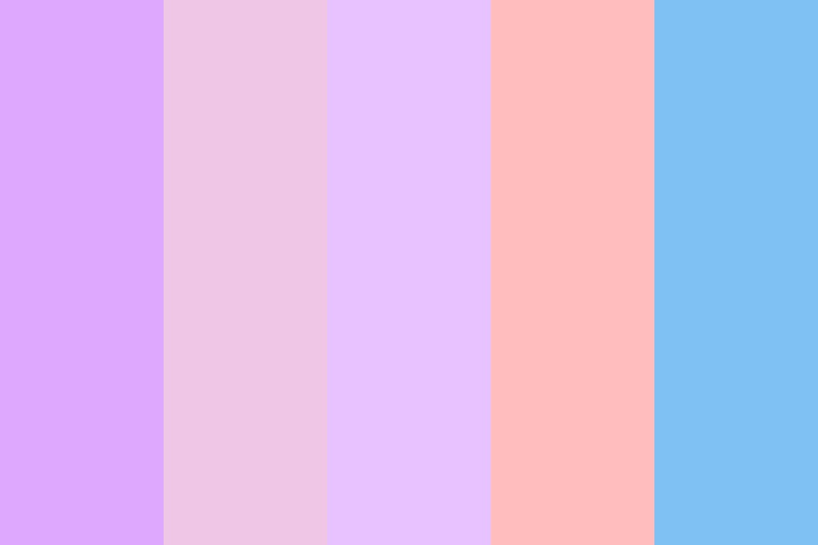 Pale Sunset Color Palette