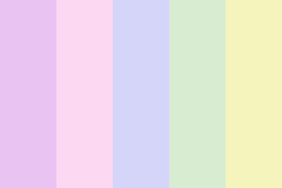 Palette Of Pastels Color Palette