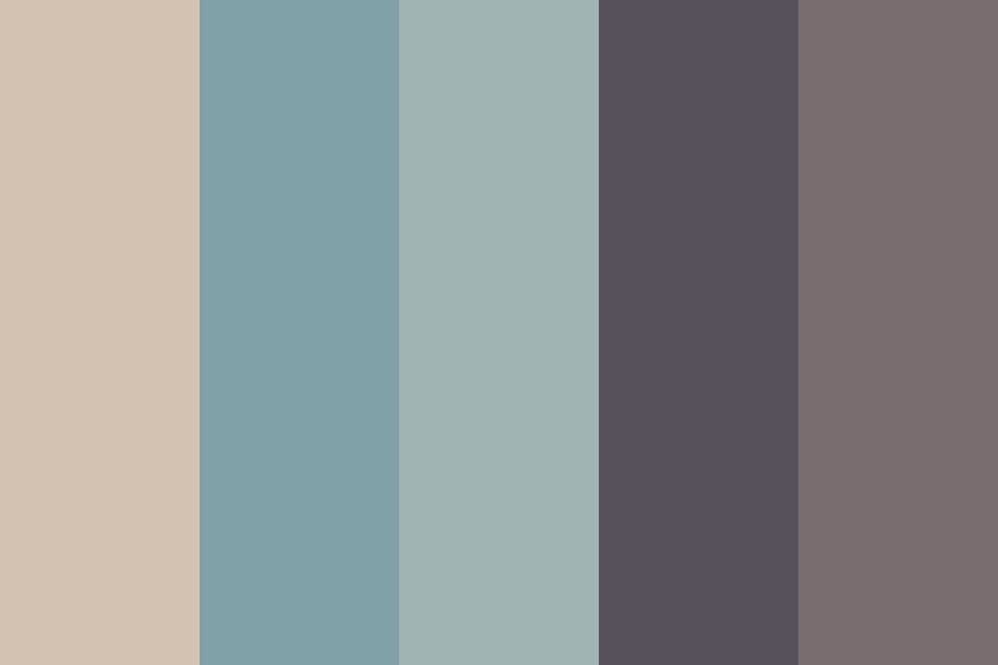 Palmtree Season Color Palette
