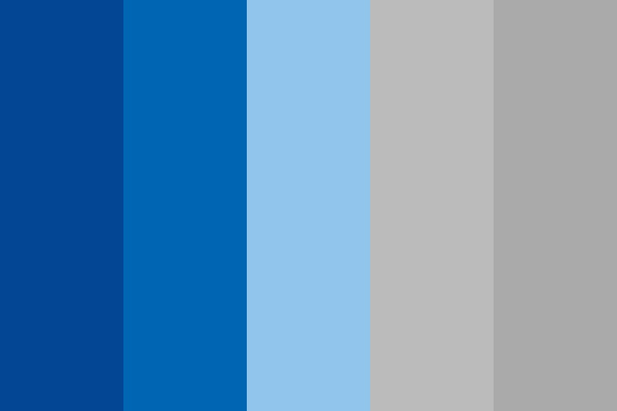 Park And Ride Blues Color Palette