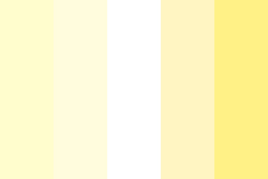 Pastel Banana Baby Color Palette
