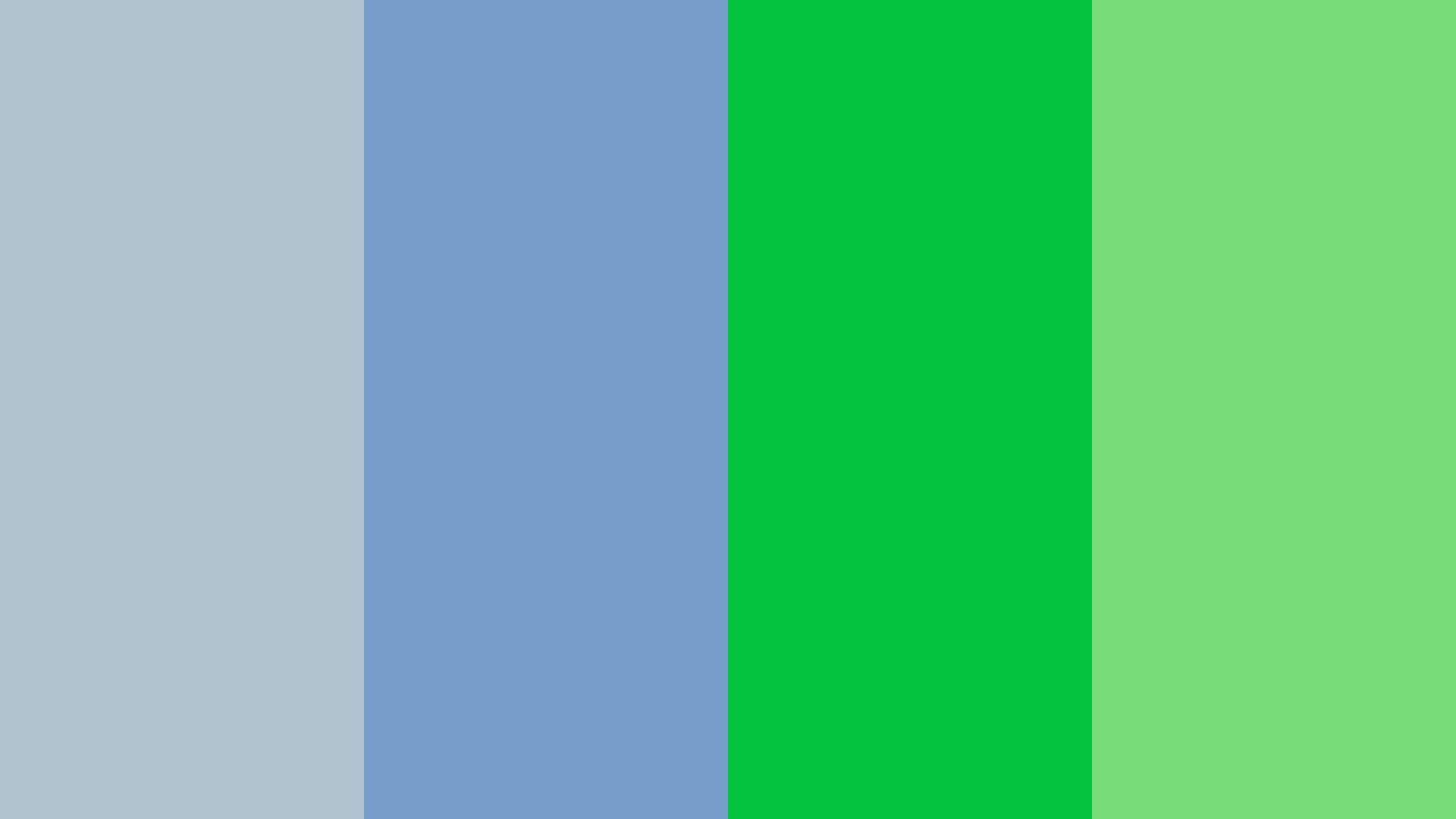 Pastel Blues And Greens Color Palette