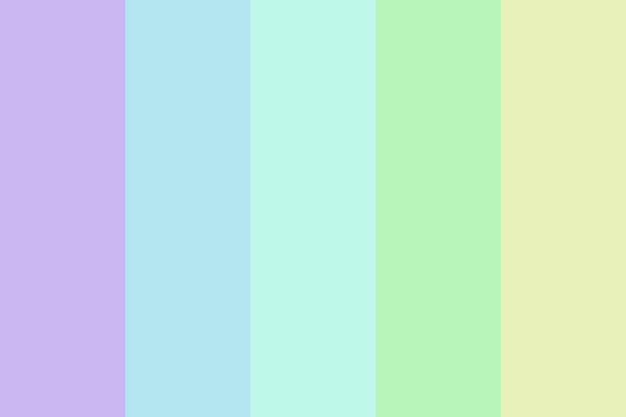 Pastel Cools Color Palette