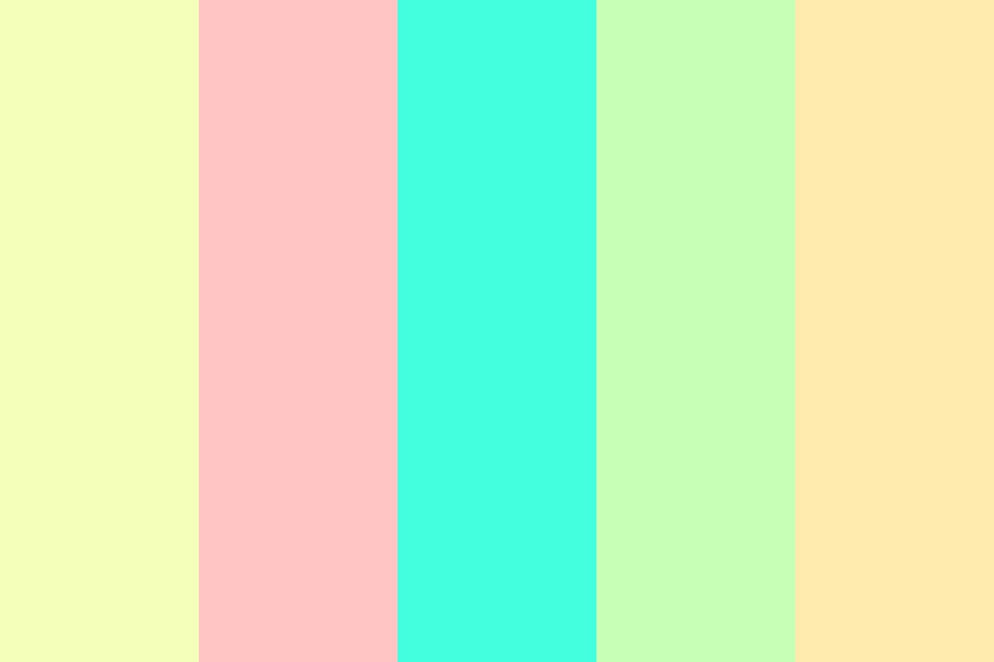 Pastel Easter Colors Color Palette