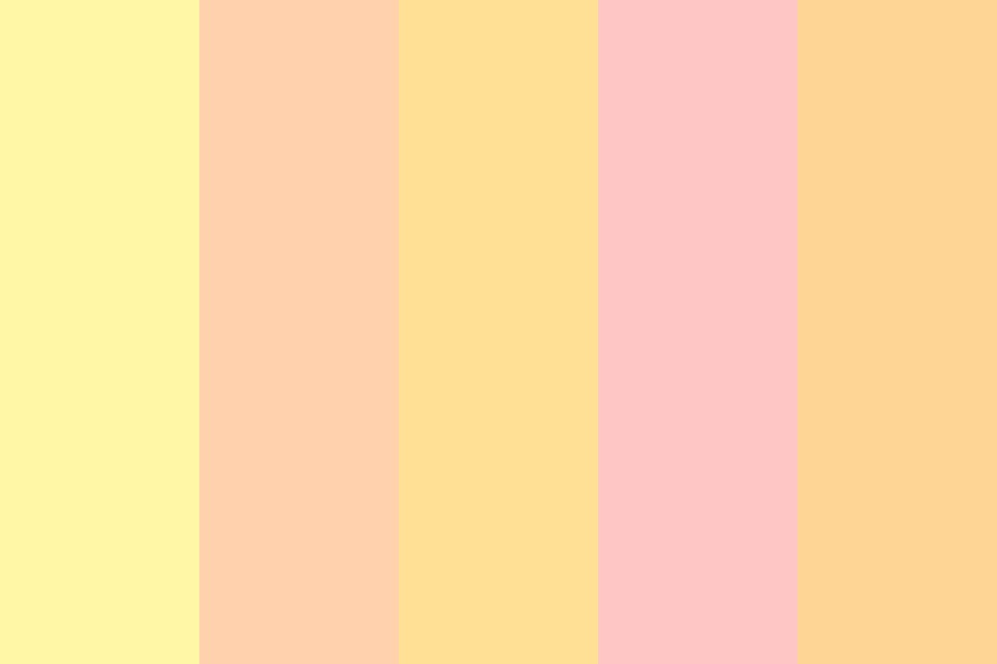 Pastel Flames Color Palette