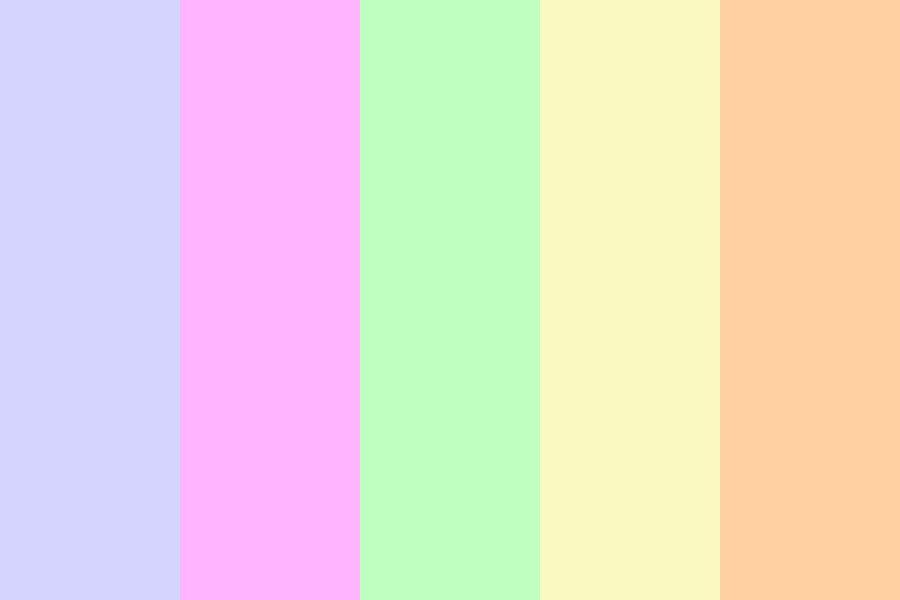 Pastel Heaven Color Palette